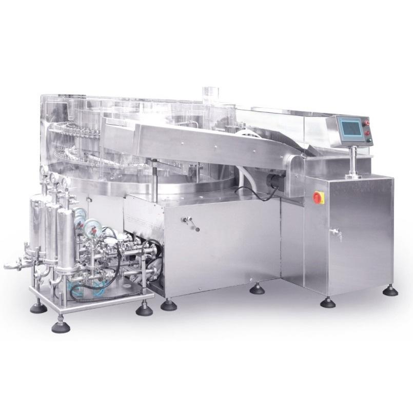 جهاز غسل عبوات دوراني آلي التراسونيك