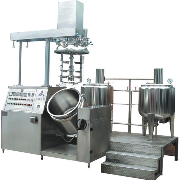 ZRJ  La máquina de vacío emulsionante